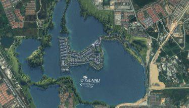 D-Island-Puchong-Map